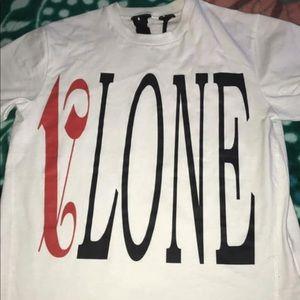 Vlone X Palm Angels Shirt Medium